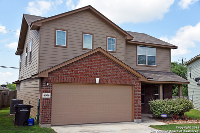 Single Family Home For Sale: 6006 Bear Branch