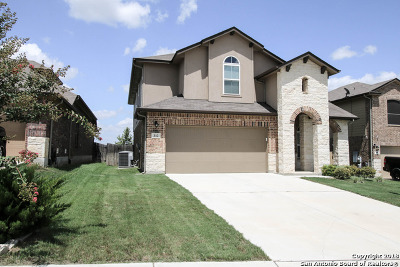 Cibolo Single Family Home New: 312 Pevero