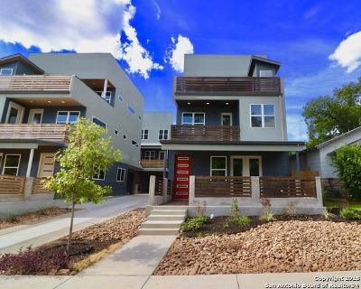 San Antonio Single Family Home Price Change: 615 Fulton Ave Unit 4