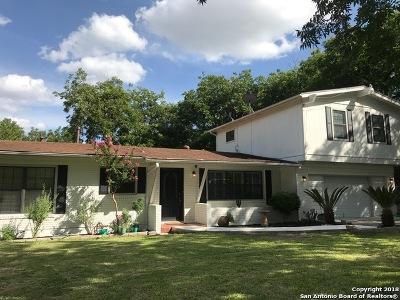 San Antonio Single Family Home New: 354 W Broadview Dr
