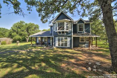 Guadalupe County Single Family Home New: 258 Saw Mill Rd