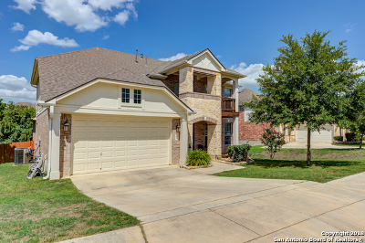 San Antonio Single Family Home New: 8227 Setting Moon