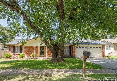 San Antonio Single Family Home Price Change: 6506 Halter Ln