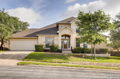 San Antonio Single Family Home New: 1321 Wooded Knoll
