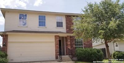 San Antonio Single Family Home New: 3907 Blue Oak Pass