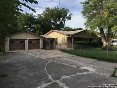 San Antonio Single Family Home New: 889 Holmgreen Rd