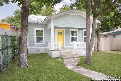 San Antonio Single Family Home New: 1829 Santa Anna