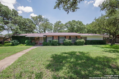 San Antonio Single Family Home New: 126 Donella Dr