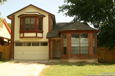 San Antonio Single Family Home New: 5995 Catalina Sunrise Dr