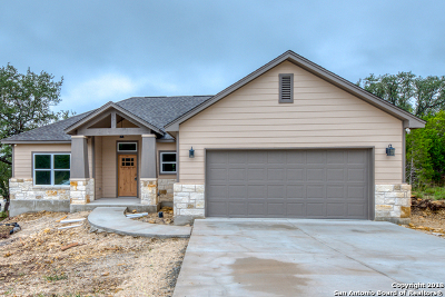 Canyon Lake Single Family Home New: 160 Flint Circle