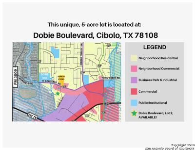 Residential Lots & Land For Sale: Dobie Blvd.