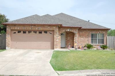 San Antonio Single Family Home New: 734 Las Puertas