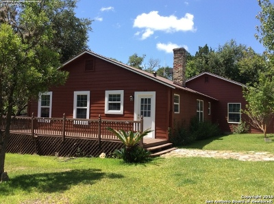 Bandera County Single Family Home New: 140 Stufflebean Rd