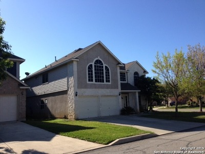 San Antonio Single Family Home New: 14202 Man O War