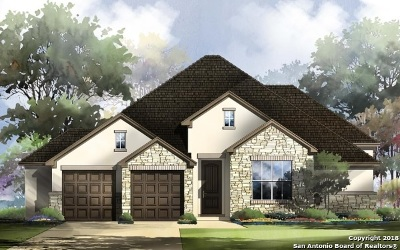 Boerne Single Family Home New: 113 Cool Rock