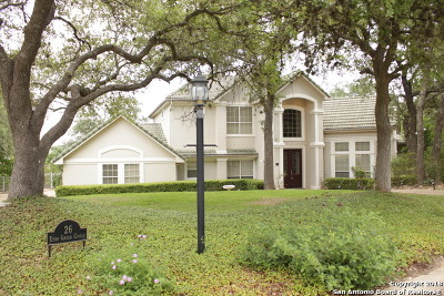 San Antonio Single Family Home New: 26 Eton Green Circle