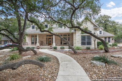Boerne Single Family Home New: 9123 Limestone Pass