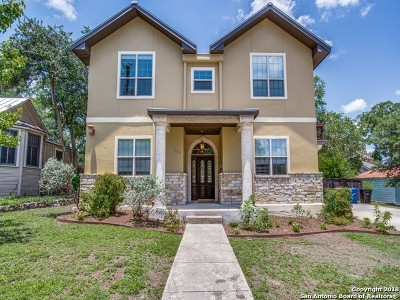 San Antonio Single Family Home Back on Market: 219 E Mistletoe Ave