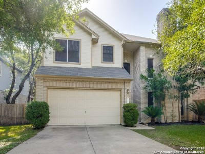 San Antonio Single Family Home New: 1242 Crumpet