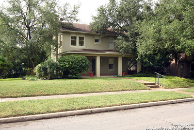 Alamo Heights Rental For Rent: 150 Wildrose Ave