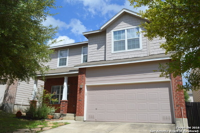 San Antonio Single Family Home Price Change: 5515 Tomas Cir