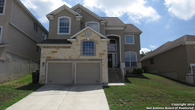 San Antonio Single Family Home New: 26218 Raven Feather