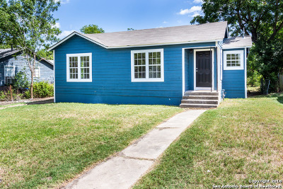 San Antonio Single Family Home New: 218 Grecian Dr