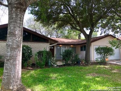 San Antonio Single Family Home New: 5622 Sir Gareth Dr