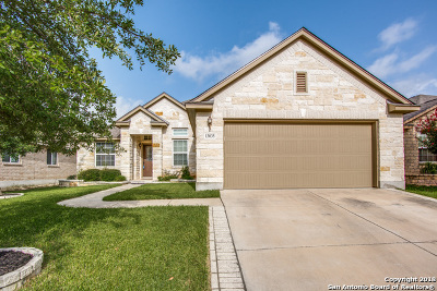 Helotes Single Family Home New: 13035 Moselle Frst