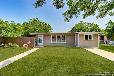 San Antonio TX Single Family Home New: $157,900