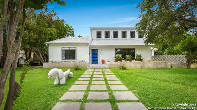 Olmos Park Single Family Home For Sale: 102 Paloma Dr
