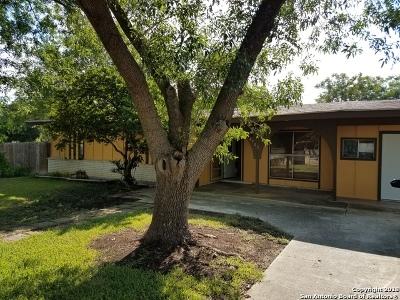San Antonio Single Family Home New: 4703 Castle Path
