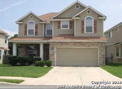 San Antonio Single Family Home New: 1010 Thomas Ridge