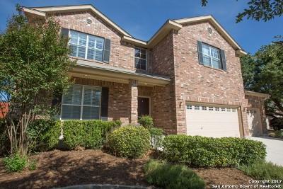 San Antonio Single Family Home New: 10303 Caspian Falls