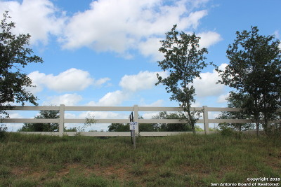 La Vernia Residential Lots & Land New: 2753 County Road 357