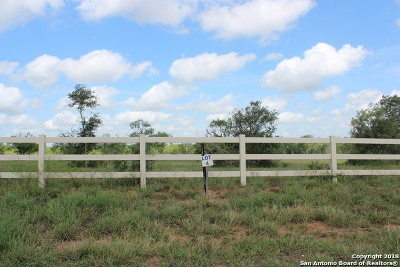 La Vernia Residential Lots & Land New: 2747 County Road 357