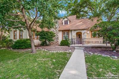 San Antonio Single Family Home New: 117 E Lullwood Ave