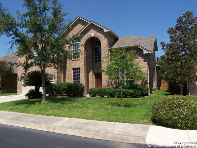 San Antonio Single Family Home New: 13610 Barsan Rd