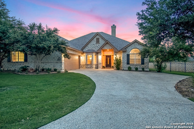 Fair Oaks Ranch Single Family Home New: 30023 Cibolo Rn