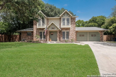 San Antonio Single Family Home New: 12227 Madrigal St