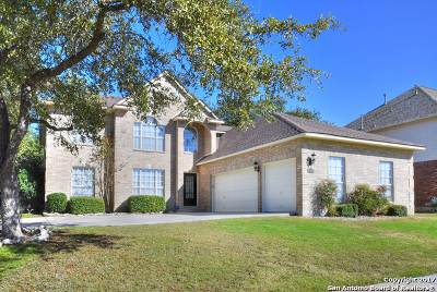 San Antonio Single Family Home New: 18614 Eagle Ford