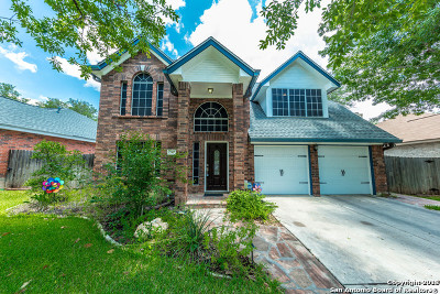 San Antonio Single Family Home New: 7327 Rocky Cedar