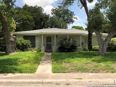 San Antonio Single Family Home New: 345 W Mandalay Dr