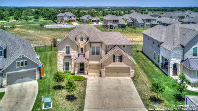 Comal County Single Family Home New: 8031 Cibolo Valley