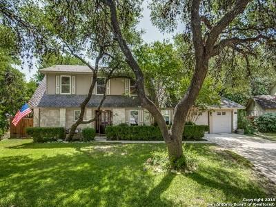San Antonio Single Family Home New: 13707 Brook Hollow Blvd