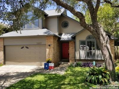 San Antonio Single Family Home New: 2407 Vibrant Oak