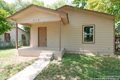 San Antonio Single Family Home New: 515 W Harlan Ave