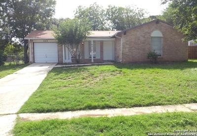 San Antonio Single Family Home New: 6414 Cedarhill