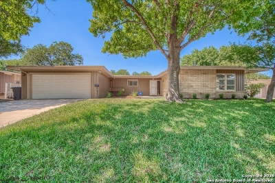 San Antonio TX Single Family Home Back on Market: $280,000