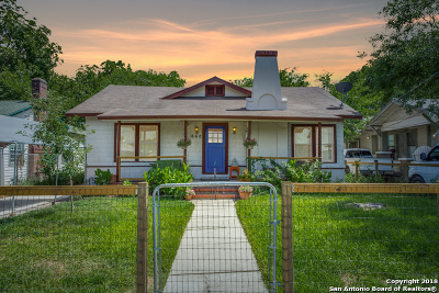 San Antonio TX Single Family Home Back on Market: $140,000